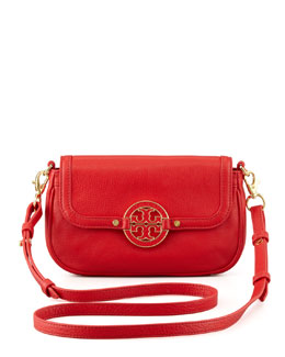 Tory Burch Amanda Mini Messenger Bag, Red