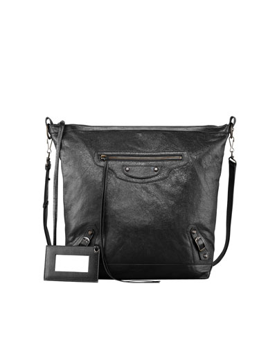 Balenciaga Classic Day Crossbody Bag, Black