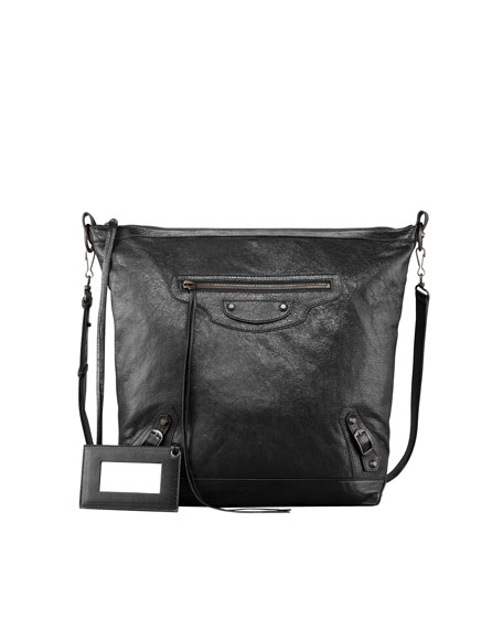 Classic Day Crossbody Bag, Black