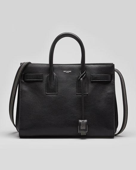 Sac De Jour Small Studded Carryall Bag, Black