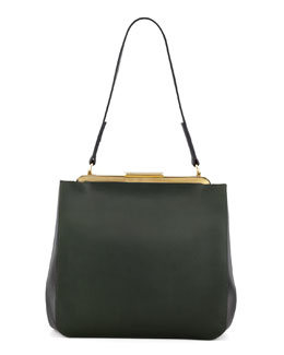 Marni Bicolor Small Framed Shoulder Bag