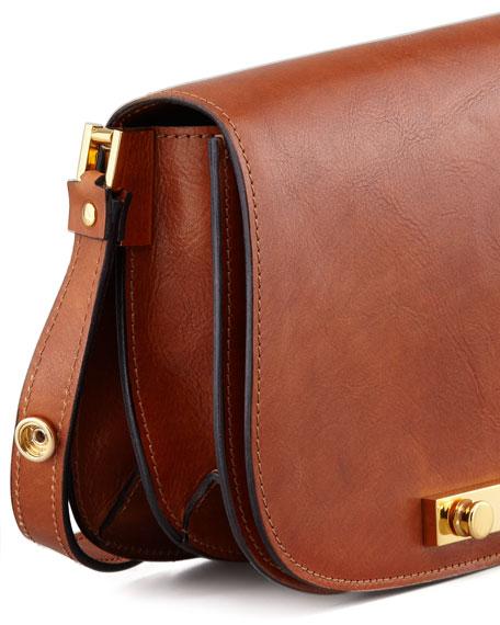 Adjustable-Strap Saddle Bag