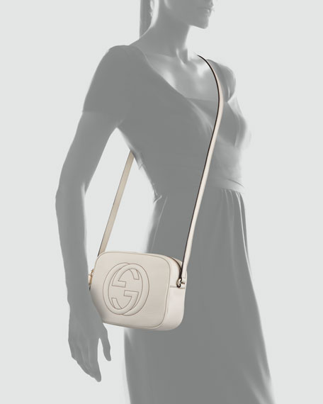 Image 3 of 3: Soho Small Shoulder Bag, White