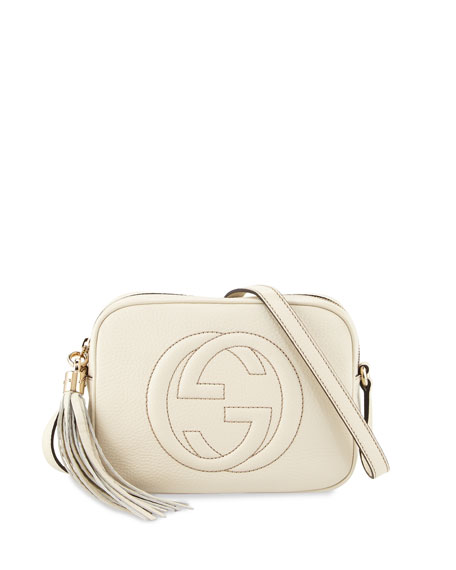 Image 1 of 3: Soho Small Shoulder Bag, White