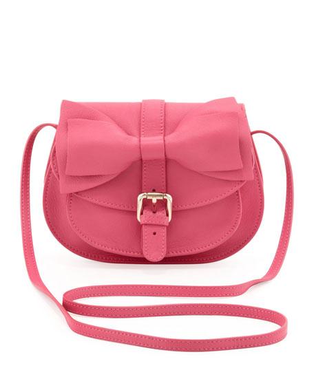 a5e3080cd9be RED Valentino Bow-Flap Crossbody Bag