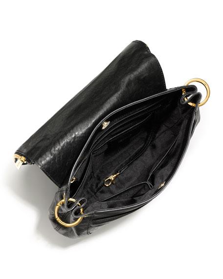Medium Stanthorpe Calf-Hair Shoulder Bag