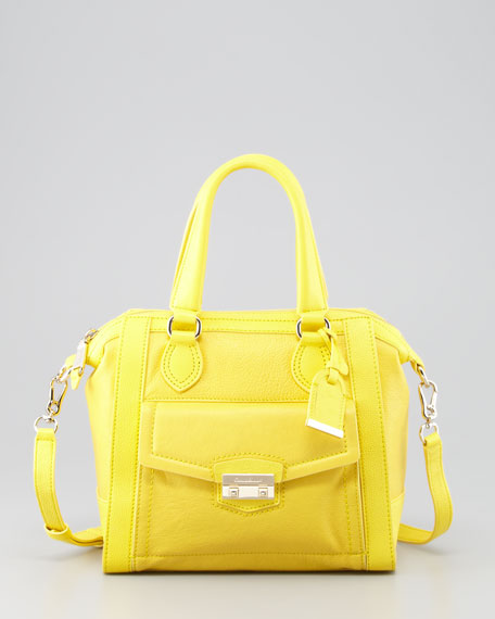 Cole Haan Zoe Structured Satchel Bag, Sunlight