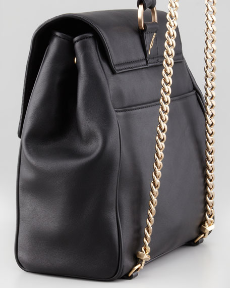 Juliette Small Leather Backpack with Tassel