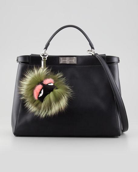 Fur Monster Charm for Handbag