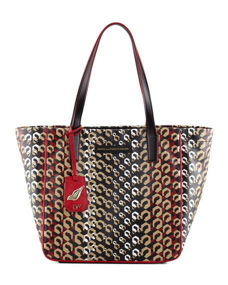 Ready-To-Go Printed Tote Bag