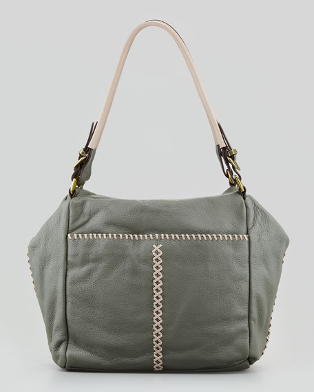 Lyndsey Shoulder Bag, Mud Multi