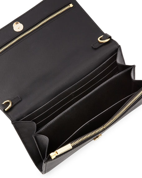 Robinson Wallet On A Chain, Black