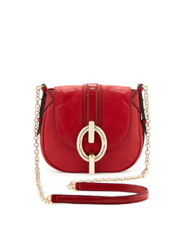 Diane von Furstenberg Sutra Leather Mini Crossbody Bag