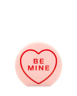 "Charlotte Olympia Arm Candy ""Be Mine"" Acrylic Clutch Bag, Candy"