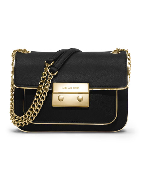Small Sloan Shoulder Flap Bag