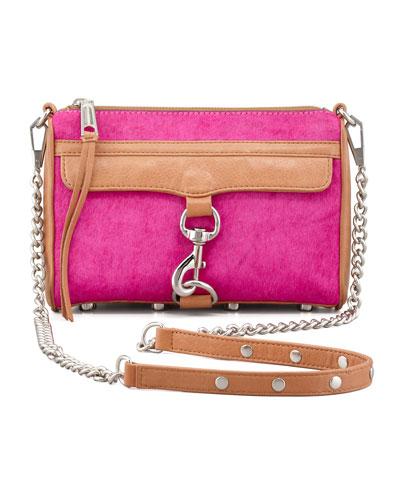 Rebecca Minkoff Mini MAC Calf Hair Crossbody Bag,