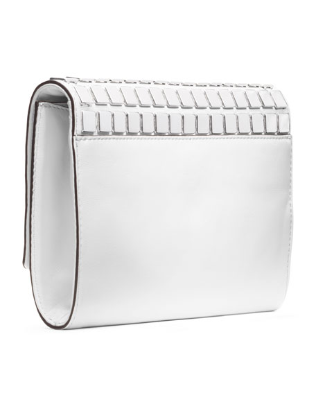 Natalia Tile Flap Clutch