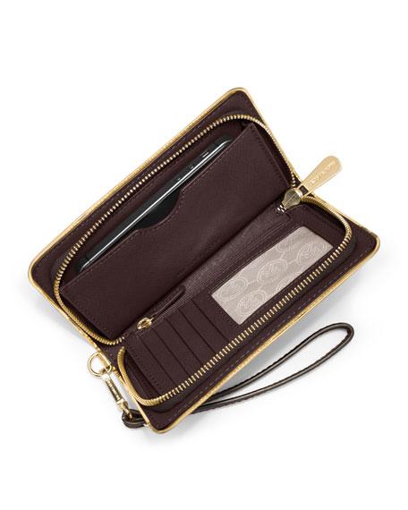 539441aab977 MICHAEL Michael Kors Jet Set Travel Specchio Large Multifunction Wallet