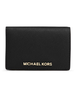 MICHAEL Michael Kors  Medium Jet Set Travel Wallet
