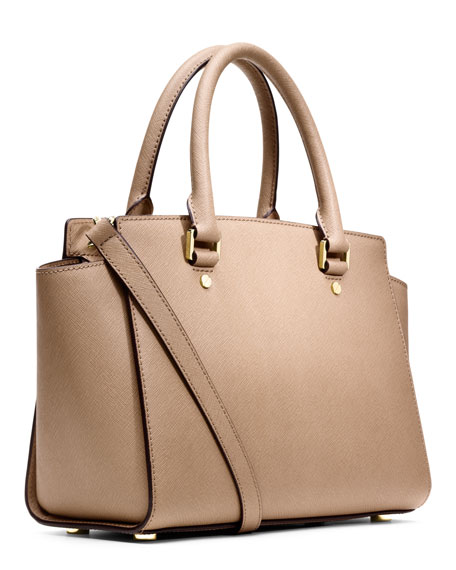 Medium Selma Top-Zip Satchel