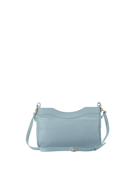 Giant 12 Golden Hip Crossbody Bag, Blue Dragee