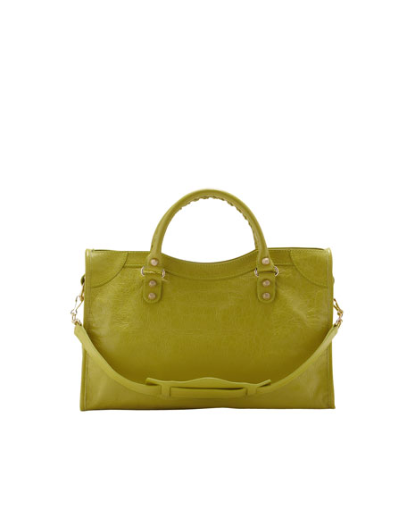 Giant 12 Golden City Bag, Jaune Poussin