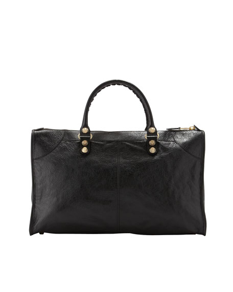 Giant 12 Golden Work Bag, Black