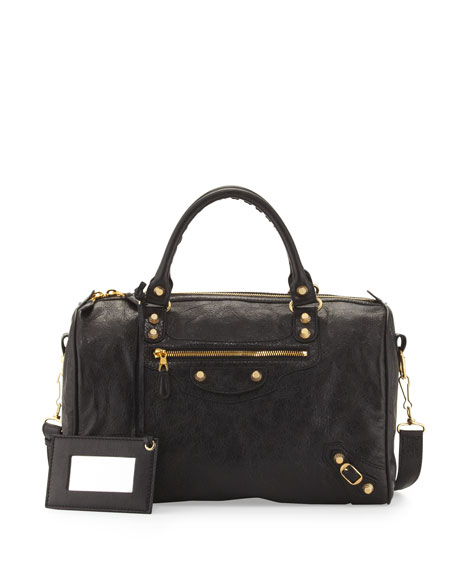 Giant 12 Golden Boston Bag, Black