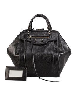 Balenciaga Classic Zip Traveler Backpack, Black