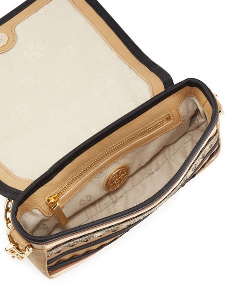 Robinson Zigzag Striped Crossbody Bag