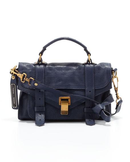 PS1 Mini Satchel Bag, Midnight