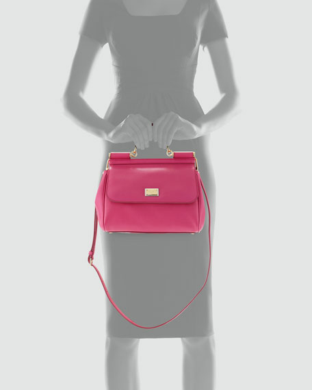 Miss Sicily Satchel Bag, Pink