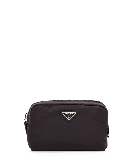 PradaVela Square Cosmetics Case, Black (Nero)