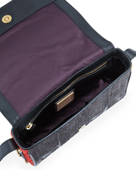 Bo Snakeskin Mini Crossbody Bag, Multicolor