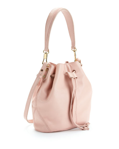 Cynnie Mini Bucket Bag, Pink Beach