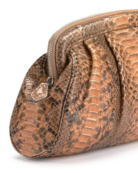 Stanwyck Python Frame Clutch