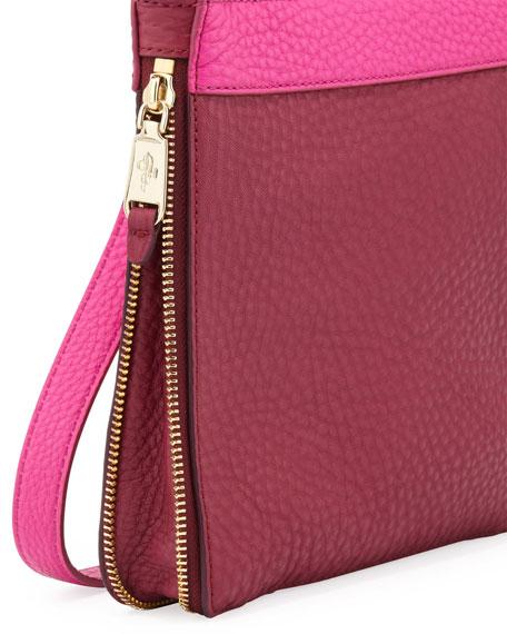 Village Sheila Colorblock Crossbody Bag, Purple