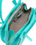 Crocodile Tote Bag, Turquoise