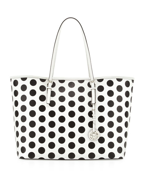 Jet Set Dotted Travel Tote