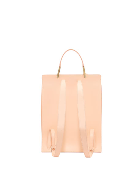 Le Dix Leather Backpack, Pink