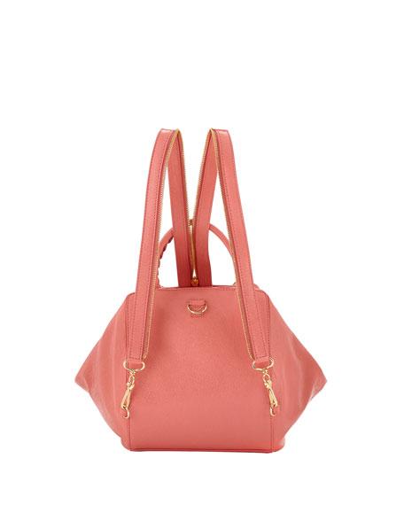 Giant Zip Traveler Backpack, Pink