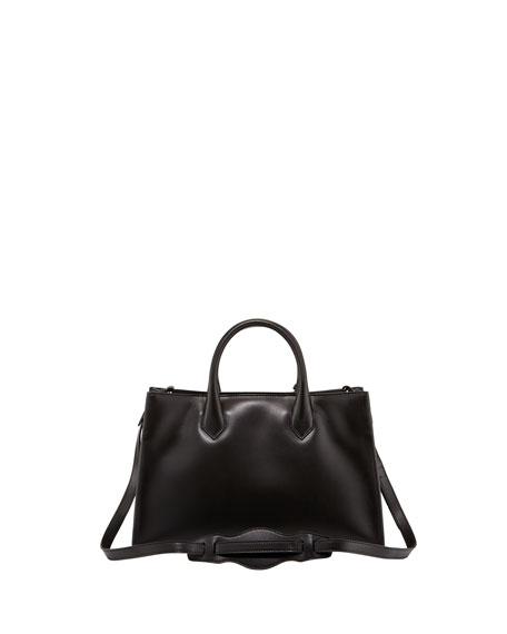 Padlock Works Extra-Small Tote Bag, Black