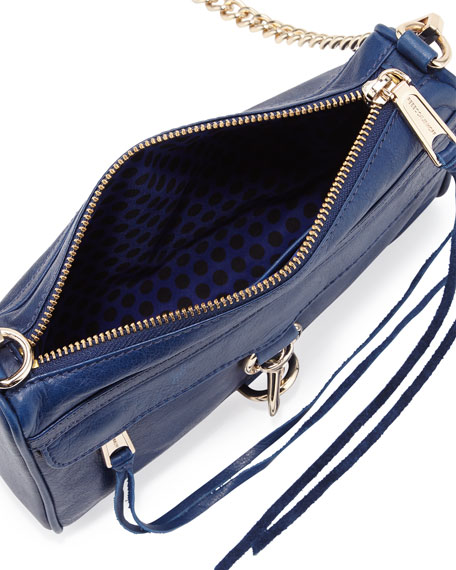 Mini M.A.C. Crossbody Bag, Oxford Blue