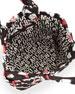Pretty Nylon Pinwheel Tate Tote Bag, Black Multi