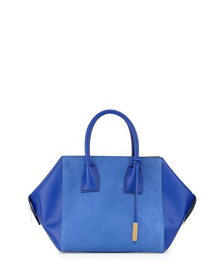 Beckett Boston Shopper Tote Bag, Blue