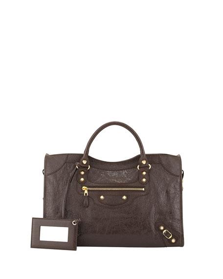 Giant 12 Golden City Bag, Dark Brown