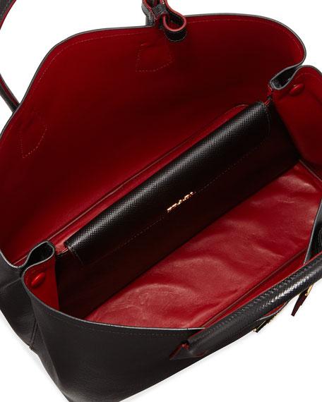 67ac48eef4 Prada Saffiano Cuir Double Bag