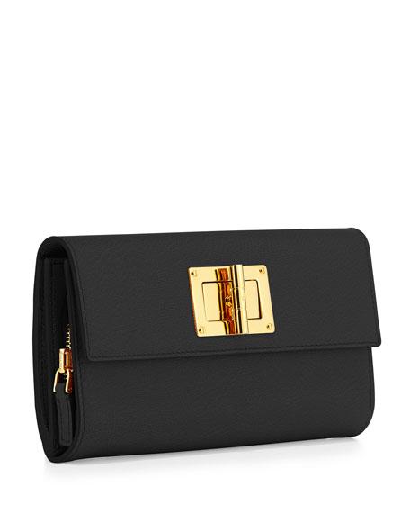 Natalia Continental Turn-Lock Wallet