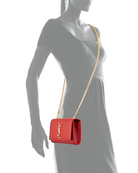 Monogram Small Crossbody Bag, Red