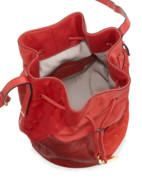 5f4ecdd23c82 Halston Heritage City Casual Patchwork Bucket Bag